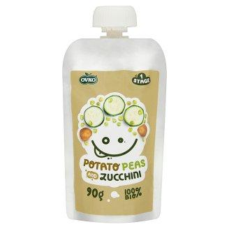 Ovko Organic Potato Peas and Zucchini 6+ Months 90 g