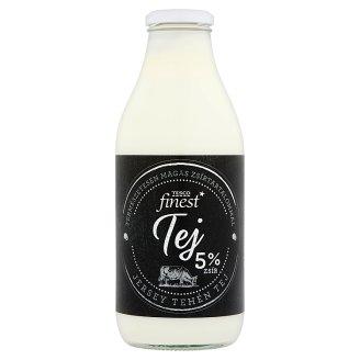 Tesco Finest Jersey Cow Milk 5% 750 ml
