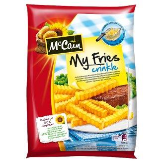 McCain My Fries Crinkle hullámos hasábburgonya 1000 g