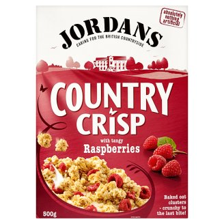 Jordans Country Crisp with Raspberries 500 g