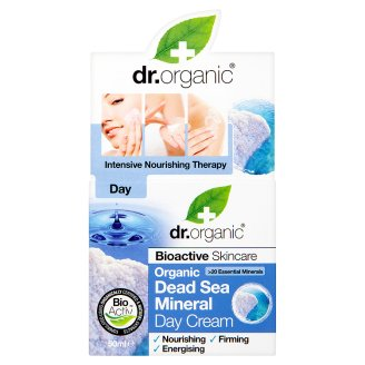 Dr. Organic Bioactive Skincare Day Cream with Organic Dead Sea Mineral 50 ml