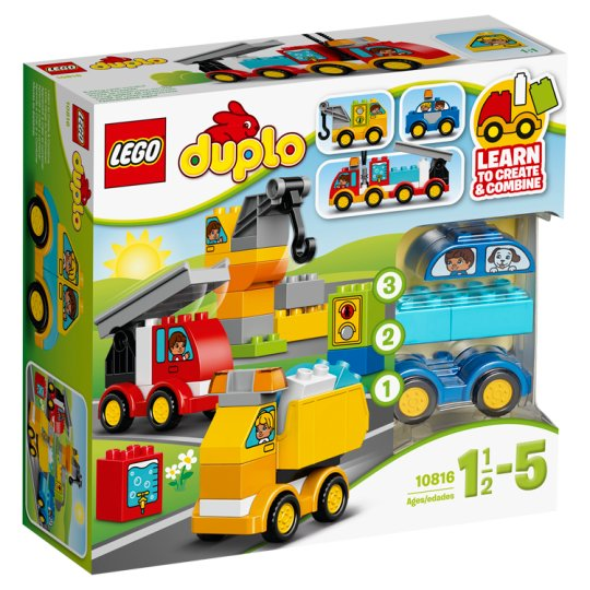 image 1 of LEGO DUPLO My First Cars and Trucks 10816