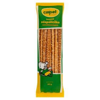 Csipet Snack hosszú szezámmagos sóspálcika 90 g