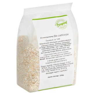 Biopont Organic Oat Bran 250 g