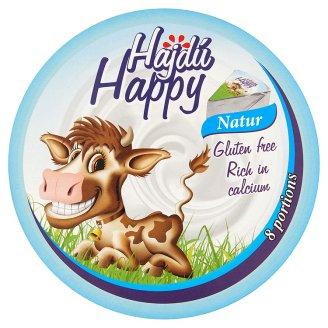 Hajdú Happy natúr zsíros, kenhető ömlesztett sajt 140 g