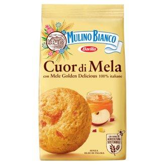 Mulino Bianco Cuor di Mela alma dzsemmel töltött omlós keksz 250 g