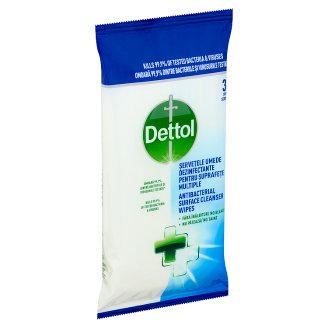 Dettol Anti-Bacterial Cleansing Surface Wipes 36 pcs