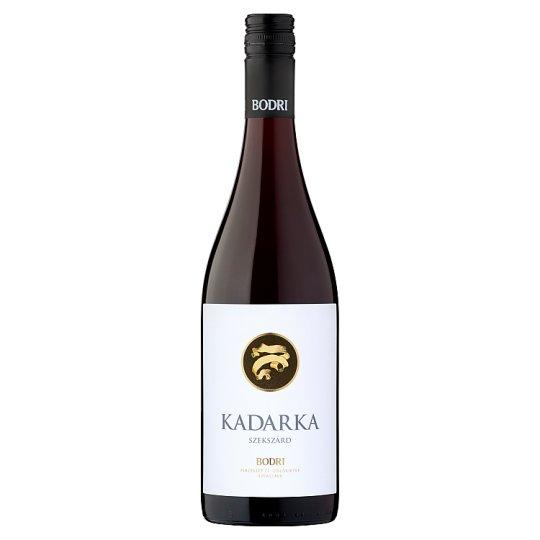 Bodri Szekszárdi Kadarka száraz vörösbor 12% 750 ml