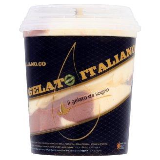 Gusto Italiano Cioccolato Vaniglia krémes csokoládé-vanília ízű olasz fagylaltkülönlegesség 1000 ml