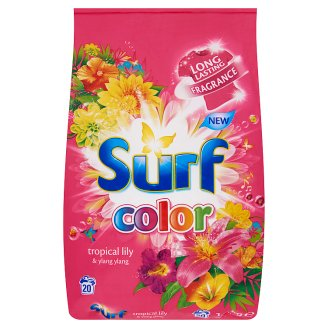 Surf Color Tropical Lily & Ylang Ylang Powder Detergent 20 Washes 1,4 kg
