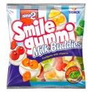 nimm2 Smilegummi Milk Buddies vegyes gyümölcs ízű gumicukorka 90 g