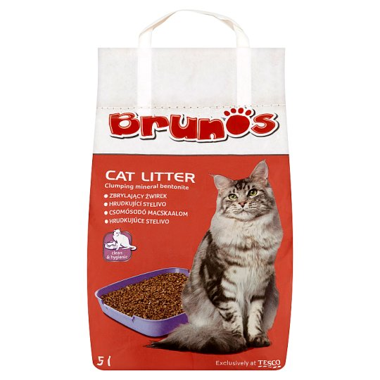 Brunos Clumping Cat Litter 5 l