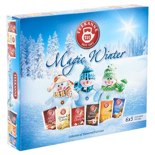 Teekanne Magic Winter Collection of Flavoured Fruit & Black Teas 6 x 5 Tea Bags 68,75 g