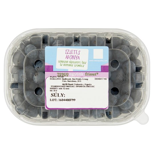 Tesco Tasty Blueberries 250 g