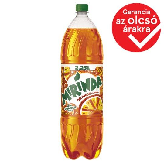Mirinda narancs szénsavas üdítőital cukorral édesítőszerekkel 2,25 l