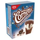 Cornetto Biscuit Flavoured Ice Cream in Cocoa Coating in Cocoa Wafer Cone 4 x 90 ml