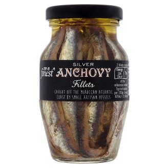Tesco Finest Silver Anchovy Fillets 155 g