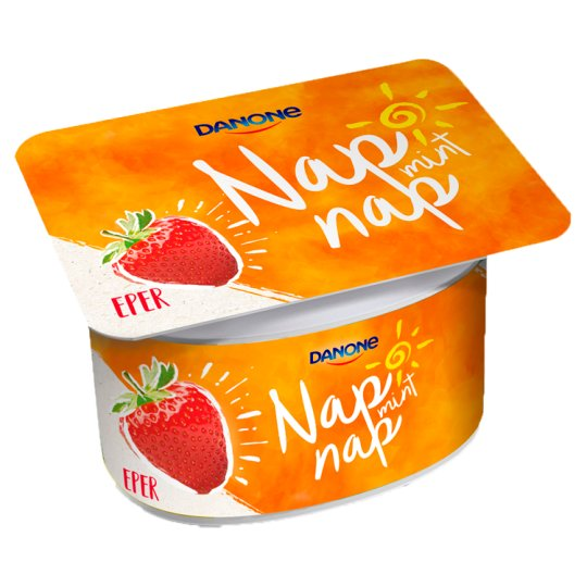 Danone Nap Mint Nap Strawberry Flavoured Fermented Yoghurt with Live Cultures 110 g