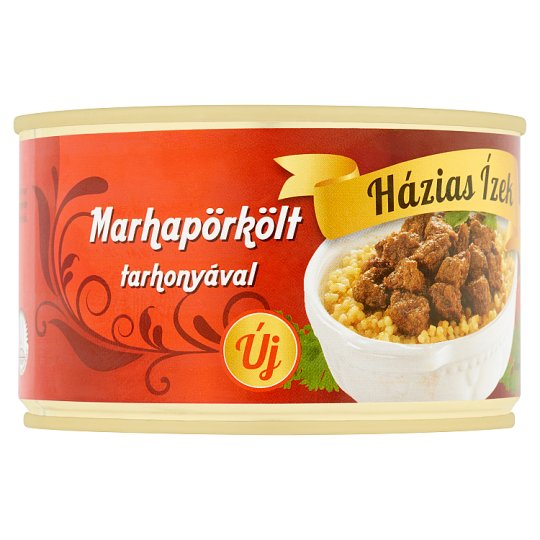 Házias Ízek Beef Stew with Noodles 400 g
