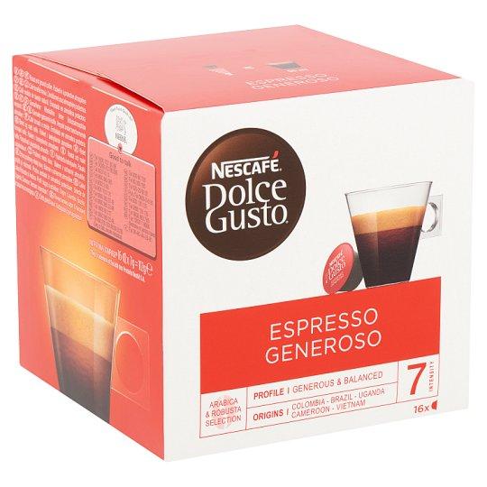 Nescafé Dolce Gusto Espresso Generoso Ground Roasted Coffee 16 db 112 g