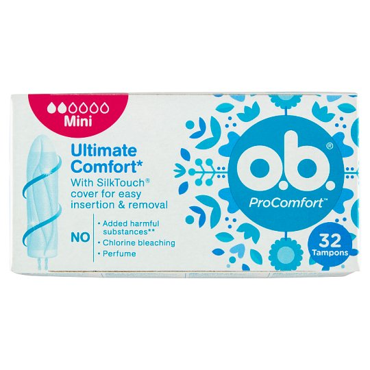 o.b. ProComfort Mini Tampons 32 pcs