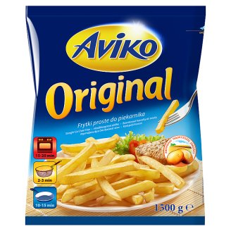Aviko Original Pre-Fried, Quick-Frozen Fries 1500 g