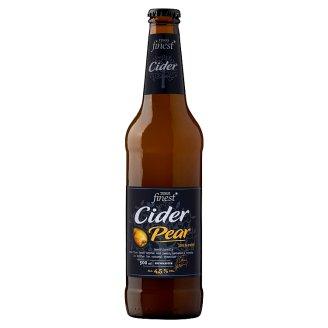 Tesco Finest Cider almalé alapú erjesztett, szénsavas, körte alkoholos ital 4,5% 500 ml