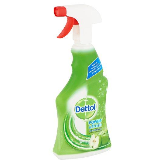 Dettol Power & Fresh Üde Zöldalma univerzális felülettisztító spray 500 ml