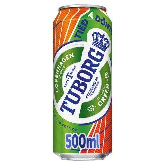 Tuborg világos sör 4,6% 0,5 l