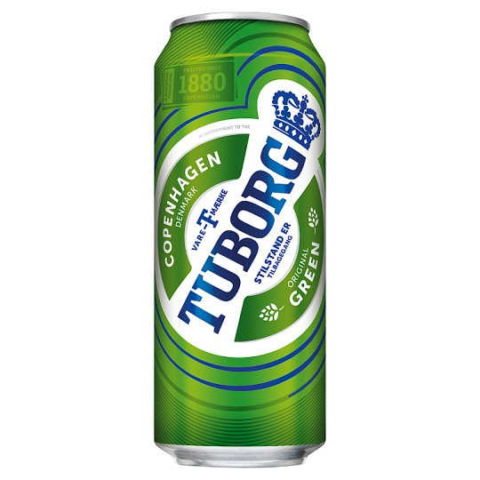 Tuborg Lager Beer 4,6% 0,5 l