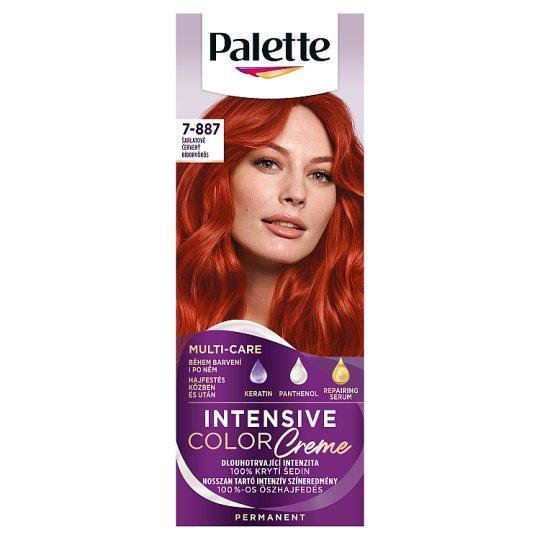 Schwarzkopf Palette Intensive Color Creme Intense Cream Hair Colorant 7-887 Purple Red (RV6)