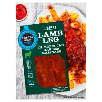 Tesco Slowly Cooked Lamb Knuckle with Bone in Moroccan Harissa Sauce