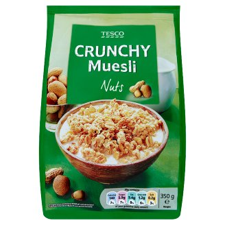 Tesco Crunchy Muesli with Nuts 350 g
