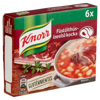 Knorr Smoked Meat Stock Cube 6 pcs 60 g