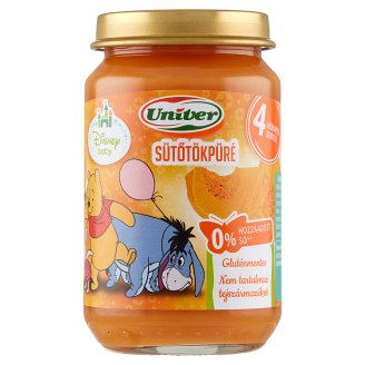 Univer Pumpkin Puree Vegetable Puree for The Baby 4+ Months 163 g