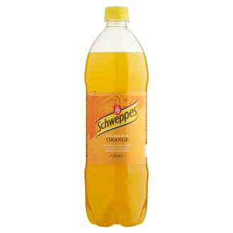 Schweppes Low Energy Orange Carbonated Drink 1 l