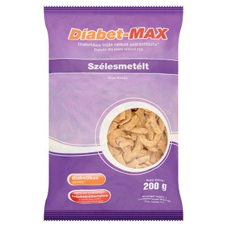 Diabet-Max Wide Noodle Diabetic Dry Pasta without Eggs 200 g