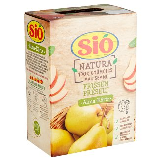 Sió Directly Pressed Apple-Pear Juice 3 l