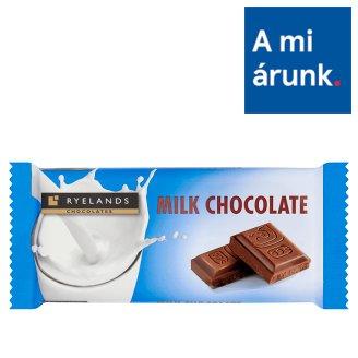 Ryelands Chocolates tejcsokoládé 100 g