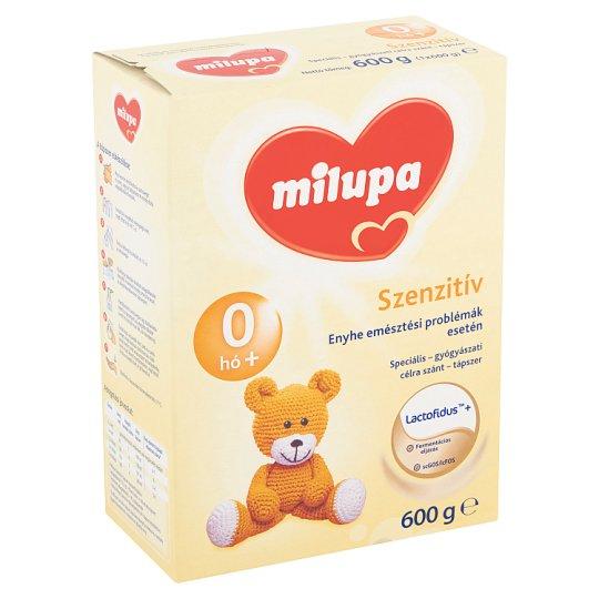 Milupa Szenzitív Supplement 0+ Months 600 g
