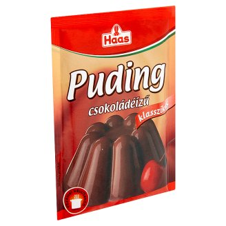 Haas Klasszikus Chocolate Flavoured Pudding Powder 44 g