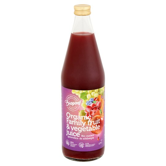 Biopont Organic Family Fruit- and Vegetable Juice 0,75 l