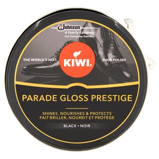 Kiwi Parade Gloss Prestige Black Premium Shoe Polish 50 ml
