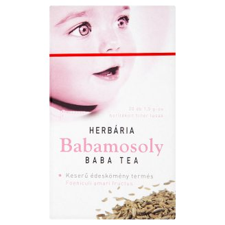 Herbária Babamosoly baba tea 20 filter 30 g