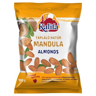Kalifa Unflavoured Almonds 100 g