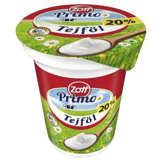 Zott Primo Semi-Fat Sour Cream 20% 330 g