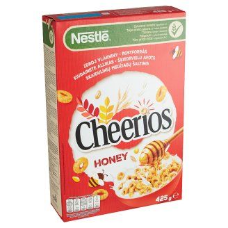 Nestlé Honey Cheerios Crunchy Cereal with Honey 425 g