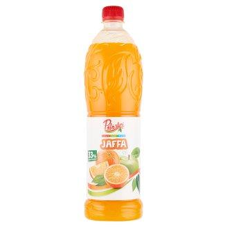 Pölöskei Jaffa Orange Flavoured Fruit Syrup with Sugar and Sweetener 1 l
