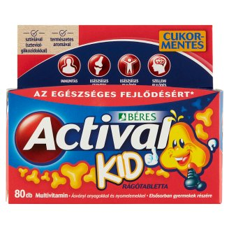 Béres Actival Kid Chewable Tablets 60 + 20 pcs 80 g
