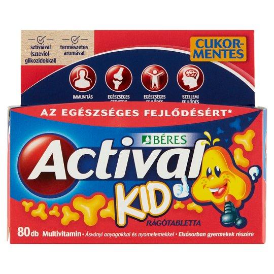 Béres Actival Kid Chewable Tablets 60 + 20 pcs 80 g